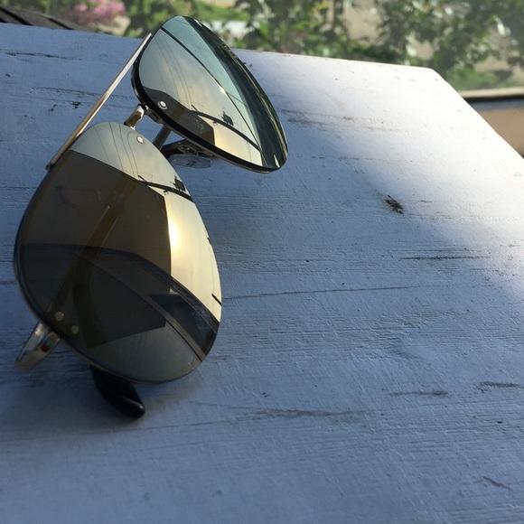 3f97b6e10736 QUICK VIEW Balenciaga 59MM Aviator Sunglasses Source · Celine Accessories  Pilotaviator Sunglasses Poshmark